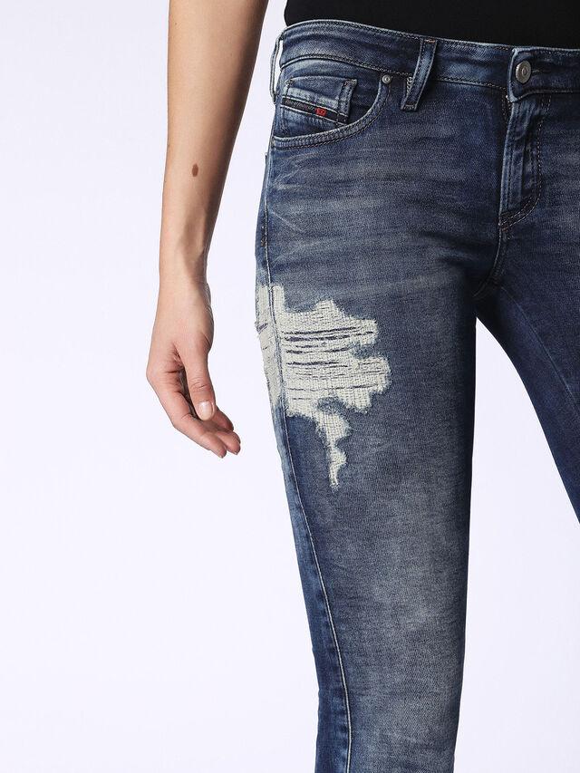 Diesel - Gracey JoggJeans 084PU, Dark Blue - Jeans - Image 6