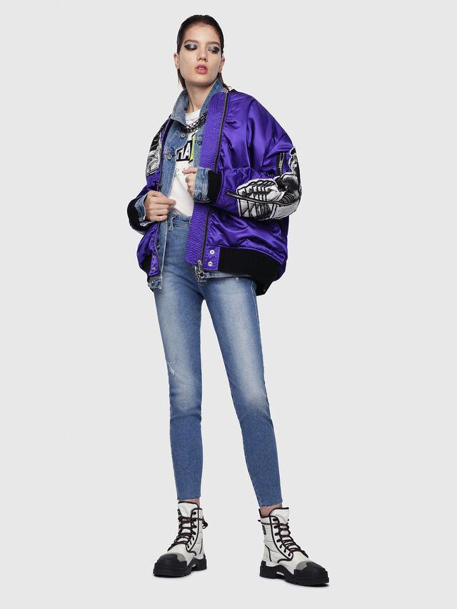 Diesel - Slandy High 086AB, Medium Blue - Jeans - Image 5