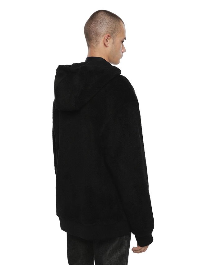 Diesel - FLAMO, Black - Sweatshirts - Image 3