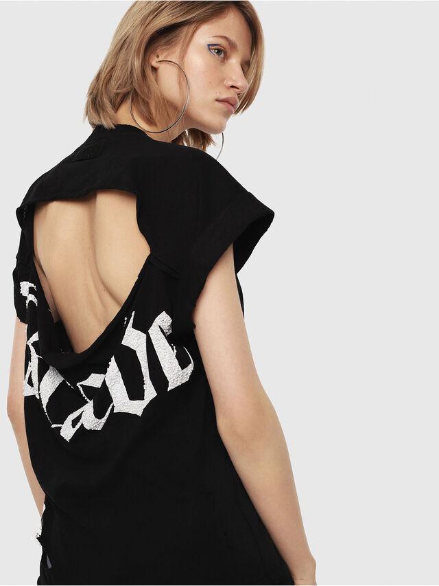 Diesel - T-JAIDA, Black/White - T-Shirts - Image 2