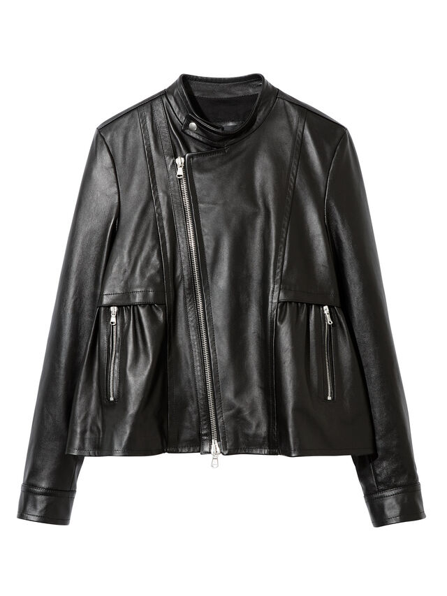 Diesel - LIKY, Black Leather - Leather jackets - Image 1