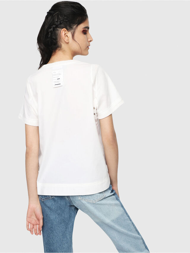 Diesel - T-SELLY, White - T-Shirts - Image 2