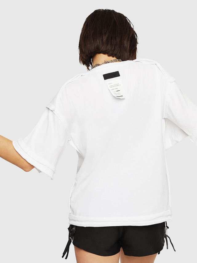 Diesel - T-JACKY-G, White - T-Shirts - Image 2