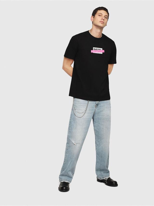 Diesel - T-JUST-DIE, Black - T-Shirts - Image 4