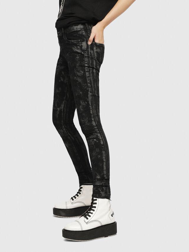 Diesel - Slandy 069CP, Black/Dark Grey - Jeans - Image 3