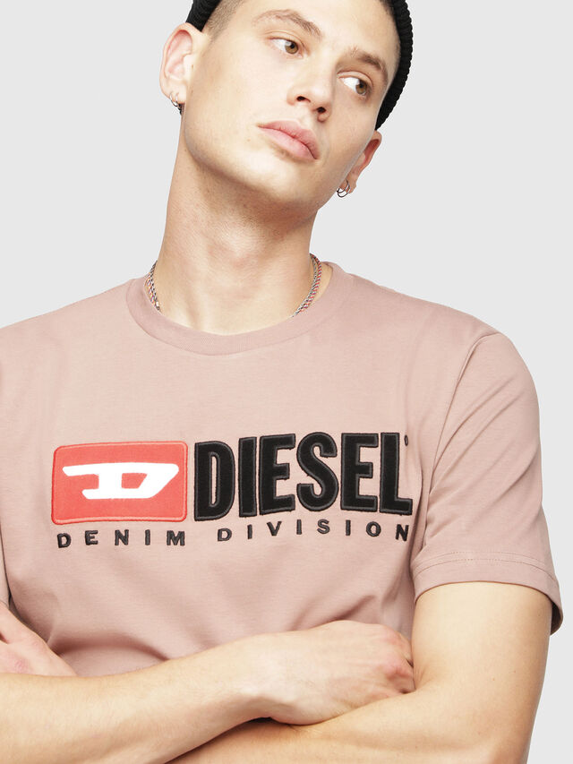 Diesel - T-JUST-DIVISION, Face Powder - T-Shirts - Image 3