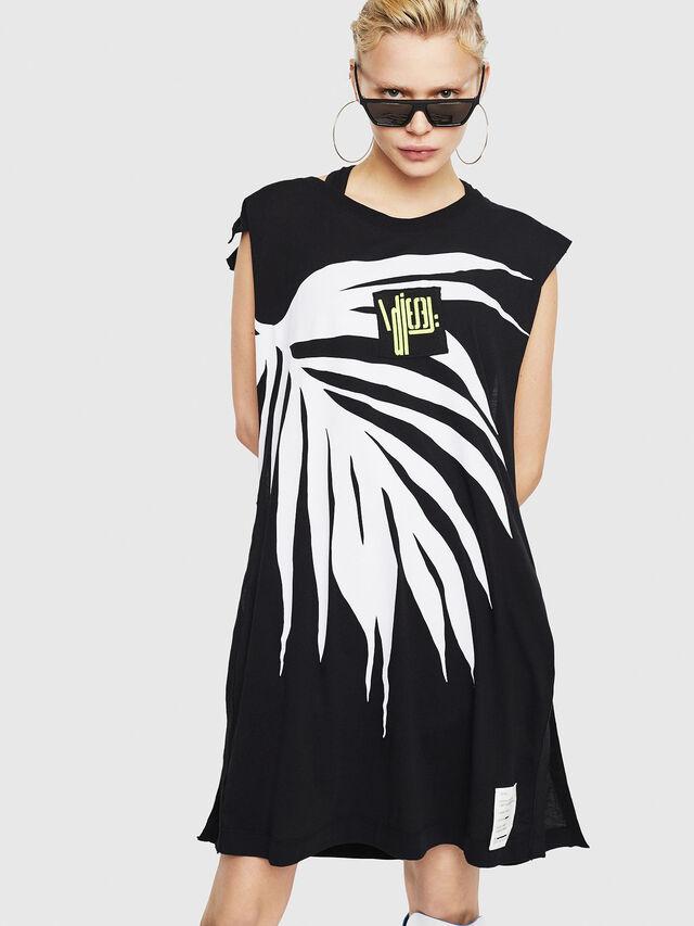 Diesel - T-DESY-B, Black/White - T-Shirts - Image 1