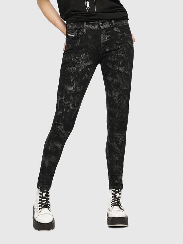 Diesel - Slandy 069CP, Black/Dark Grey - Jeans - Image 1
