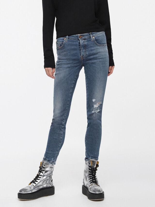 Diesel - Babhila 085AH, Medium Blue - Jeans - Image 1