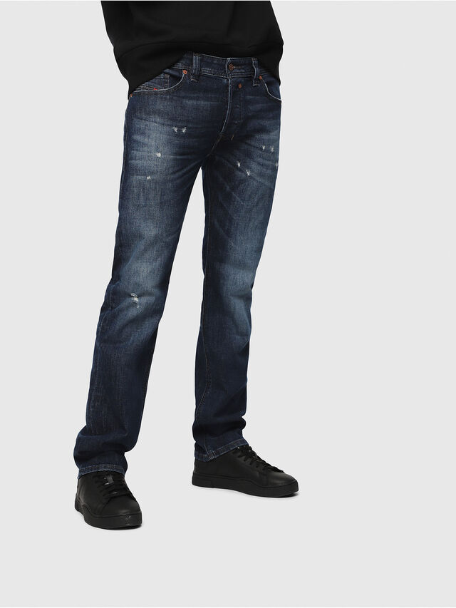 Diesel - Safado C87AN, Medium Blue - Jeans - Image 1