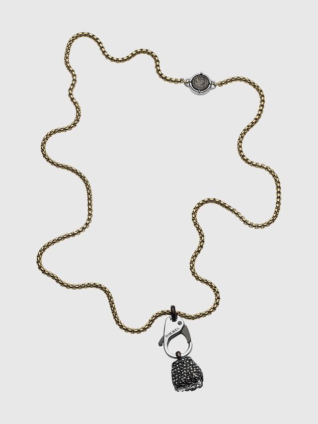 Diesel - DX1177, Black/Yellow - Necklaces - Image 1