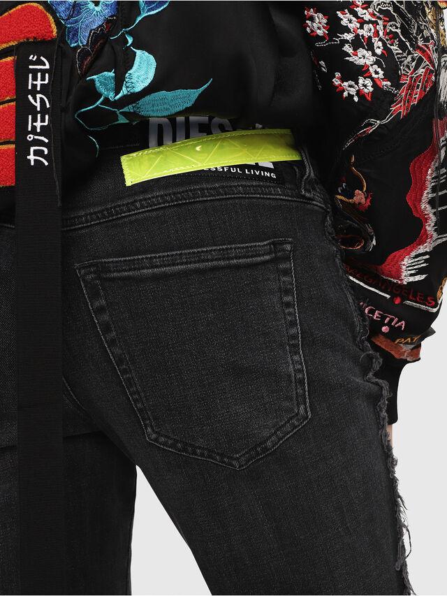 Diesel - Babhila 081AH, Black/Dark Grey - Jeans - Image 4