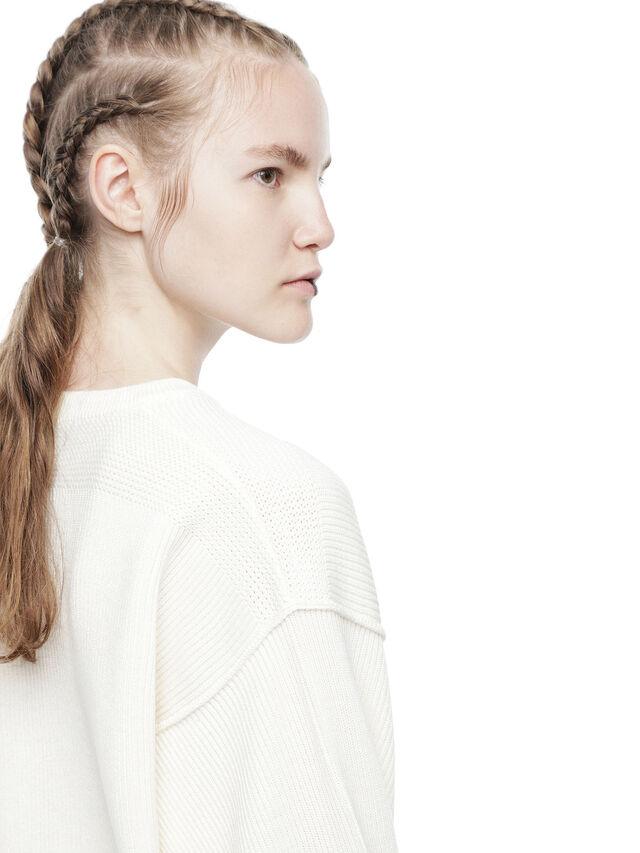 Diesel - MIRIKO, White - Sweaters - Image 7