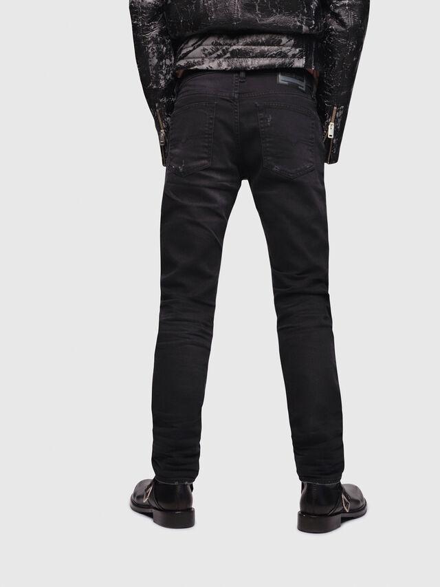 Diesel - Buster C69AC, Black/Dark Grey - Jeans - Image 2