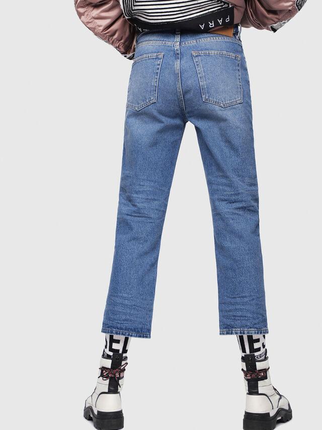Diesel - Aryel 0076X, Medium Blue - Jeans - Image 2