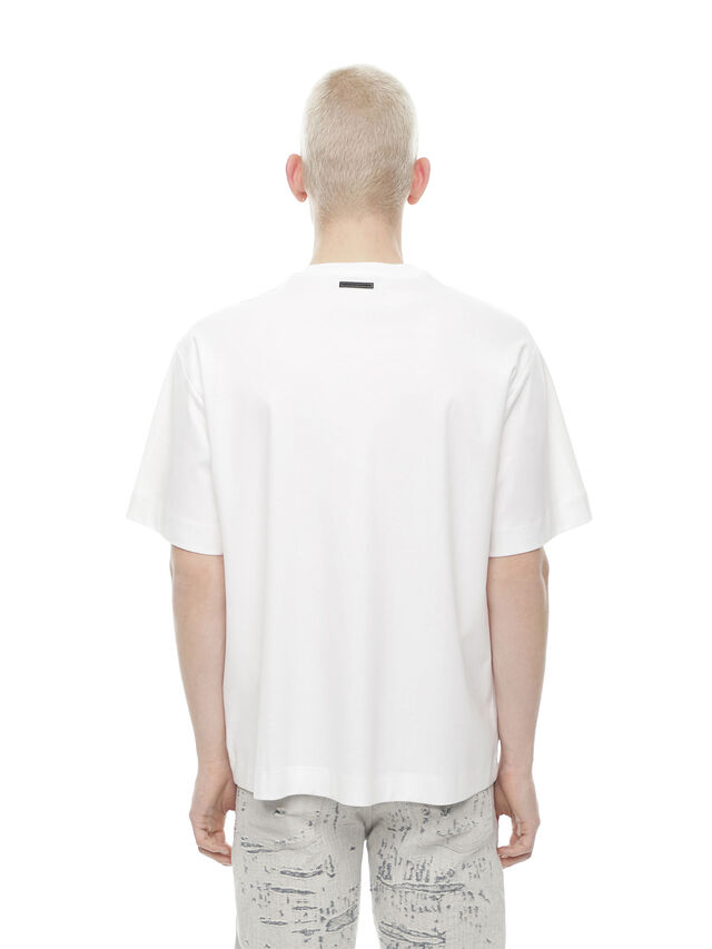 Diesel - TEORIAL-SHERIFF, White - T-Shirts - Image 2