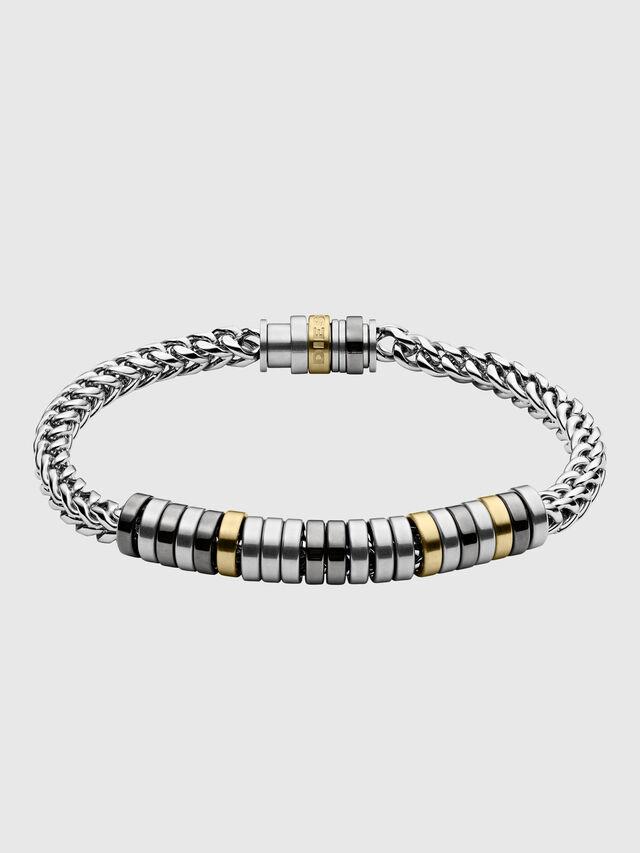 Diesel - DX1187, Silver - Bracelets - Image 1