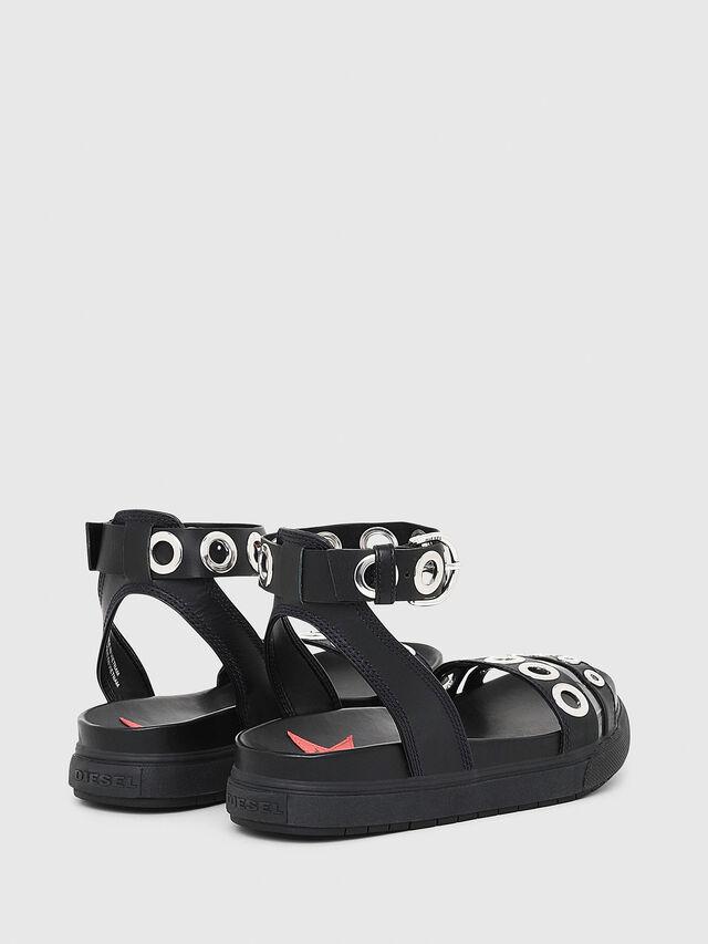 Diesel - SA-GRAND LCE, Black - Sandals - Image 3
