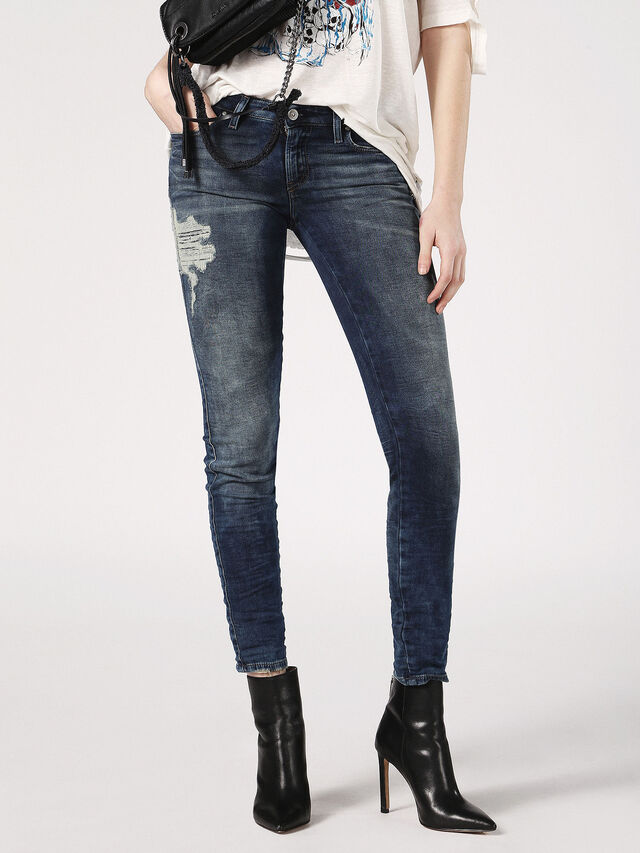 Diesel - Gracey JoggJeans 084PU, Dark Blue - Jeans - Image 1