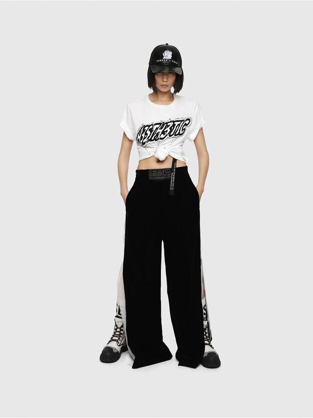 Diesel - T-DARIA-G, Blanc - T-Shirts - Image 4