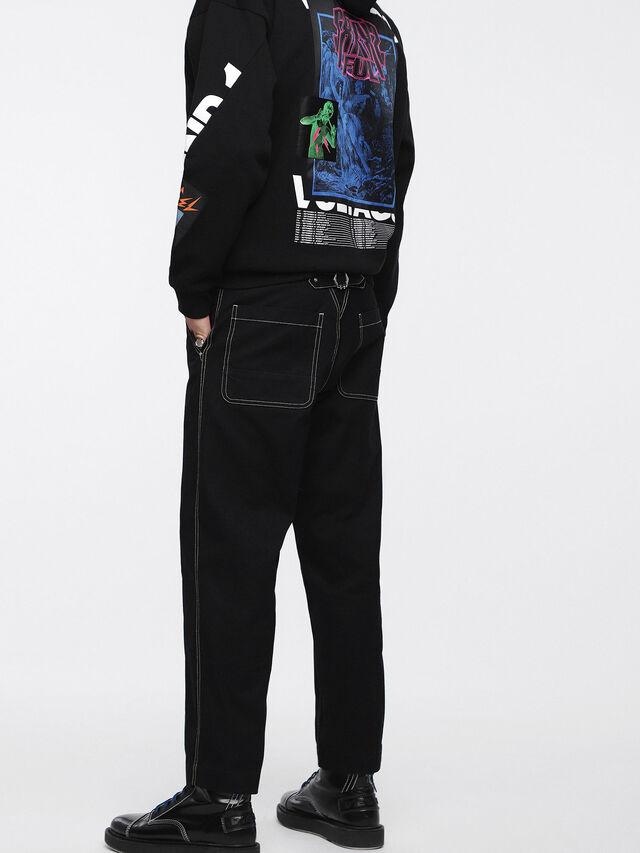 Diesel - P-FRANK, Black - Pants - Image 2