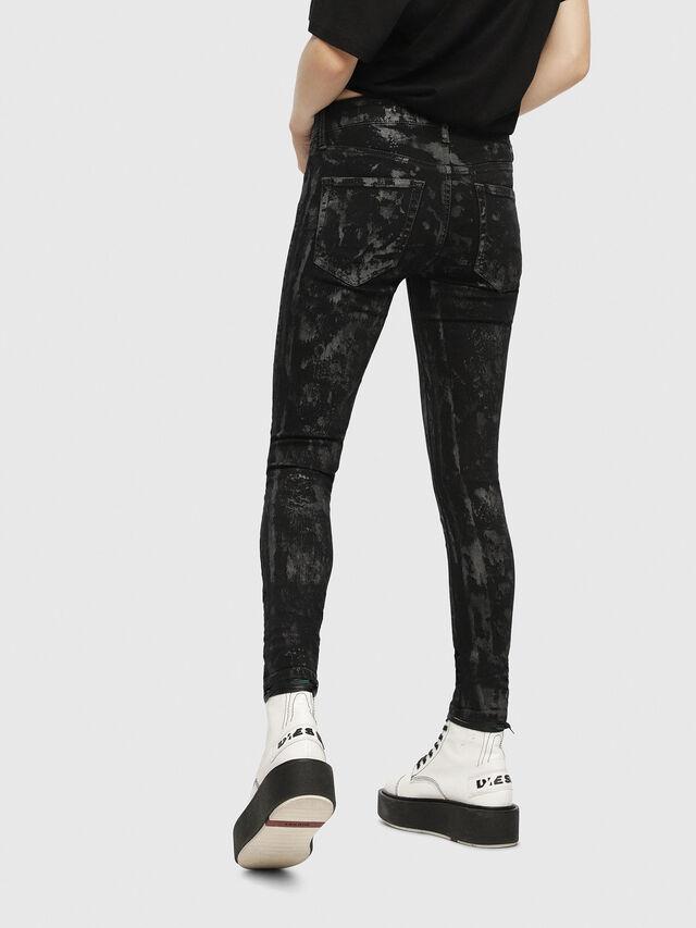 Diesel - Slandy 069CP, Black/Dark Grey - Jeans - Image 2