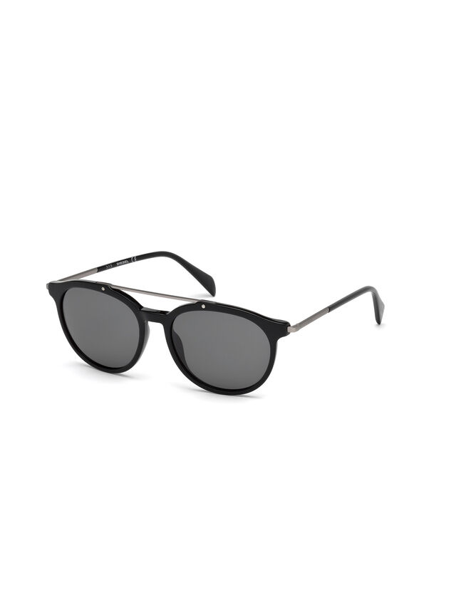 Diesel - DM0188, Black - Sunglasses - Image 4