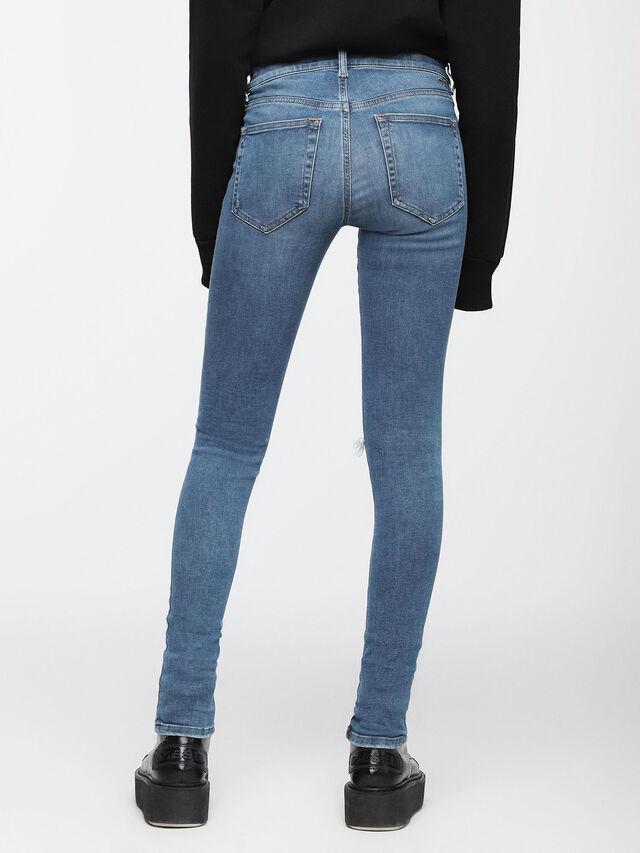 Diesel - Slandy 084UF, Medium Blue - Jeans - Image 3