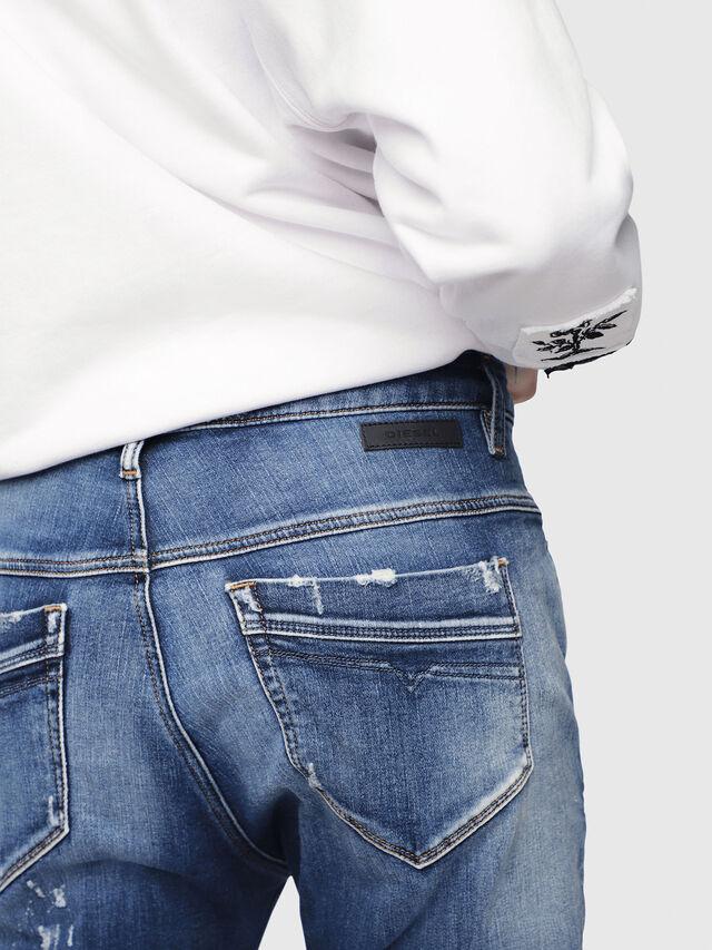 Diesel - Fayza JoggJeans 087AK, Medium Blue - Jeans - Image 3