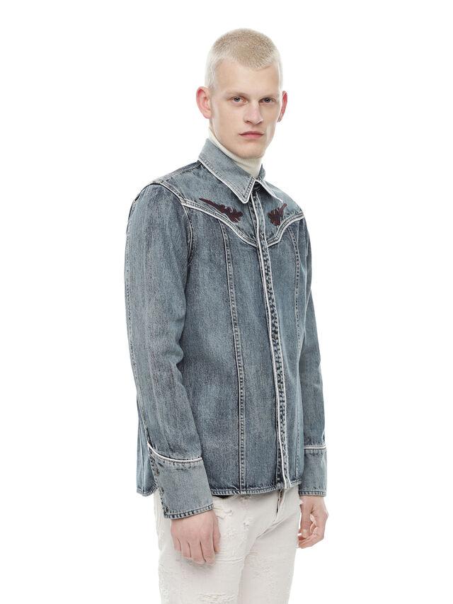 Diesel - SHESTERN, Blue Jeans - Shirts - Image 3