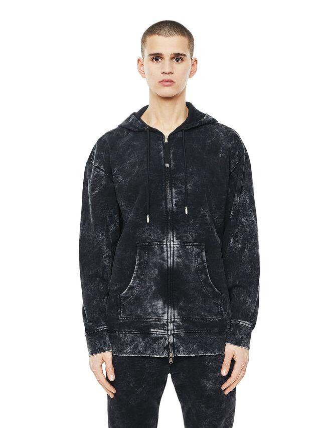 Diesel - FYOVER, Black - Sweatshirts - Image 1