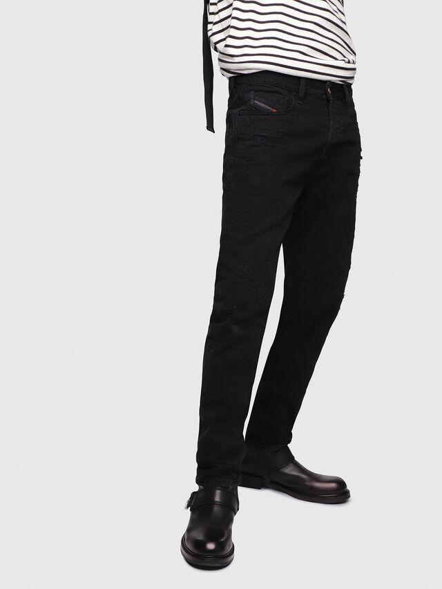 Diesel - Mharky 088AD, Black/Dark Grey - Jeans - Image 1