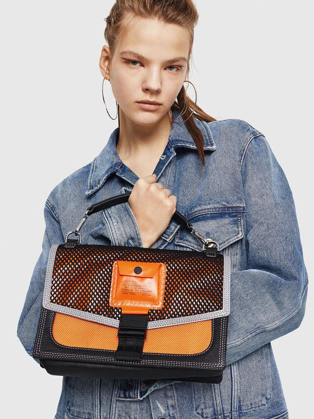 Diesel - MISS-MATCH CROSSBODY, Blue/Orange - Crossbody Bags - Image 5