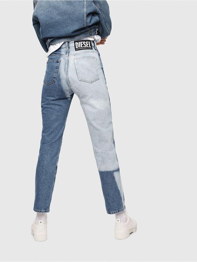 Diesel - D-Eiselle 0077V, Medium Blue - Jeans - Image 2