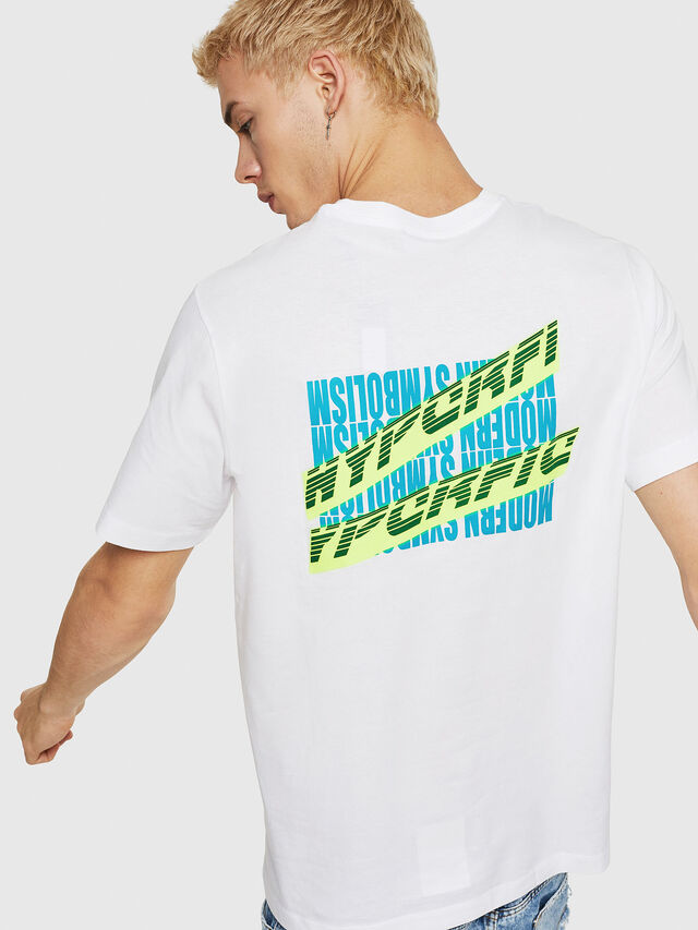 Diesel - T-JUST-Y11, White - T-Shirts - Image 2