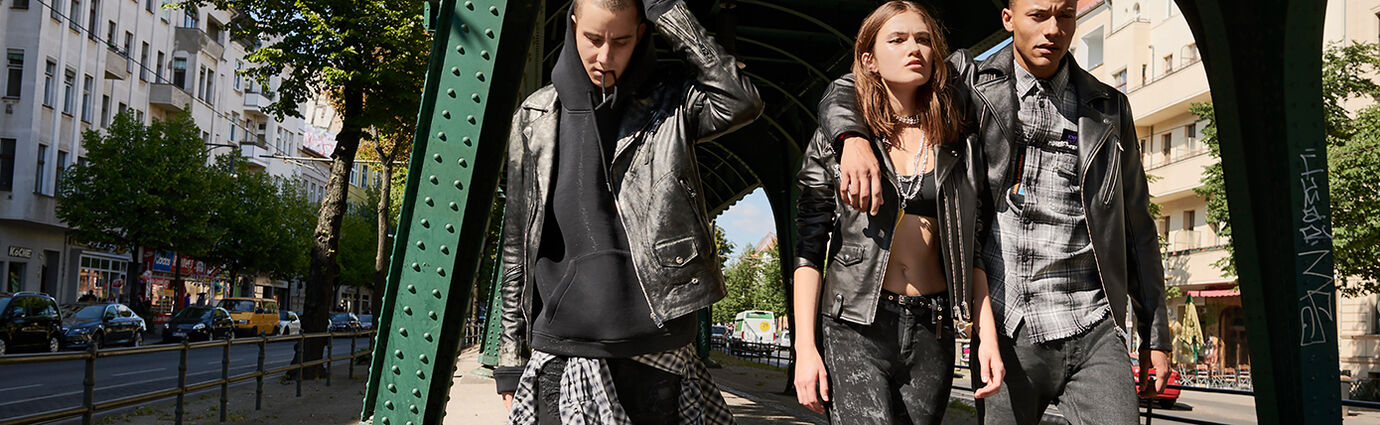 Rock Denim & Leather Jackets