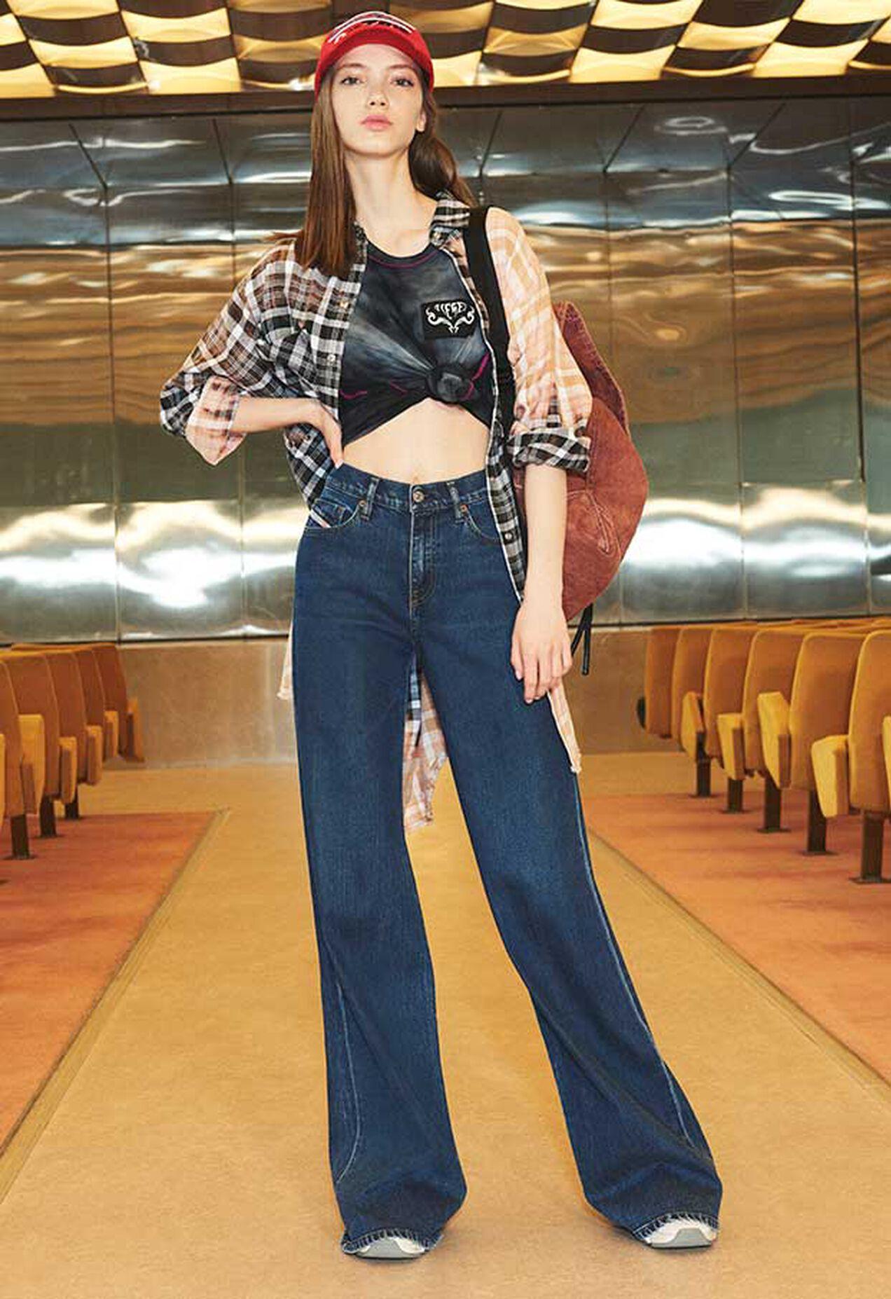 D-Akemi 009KE, Bleu moyen - Jeans
