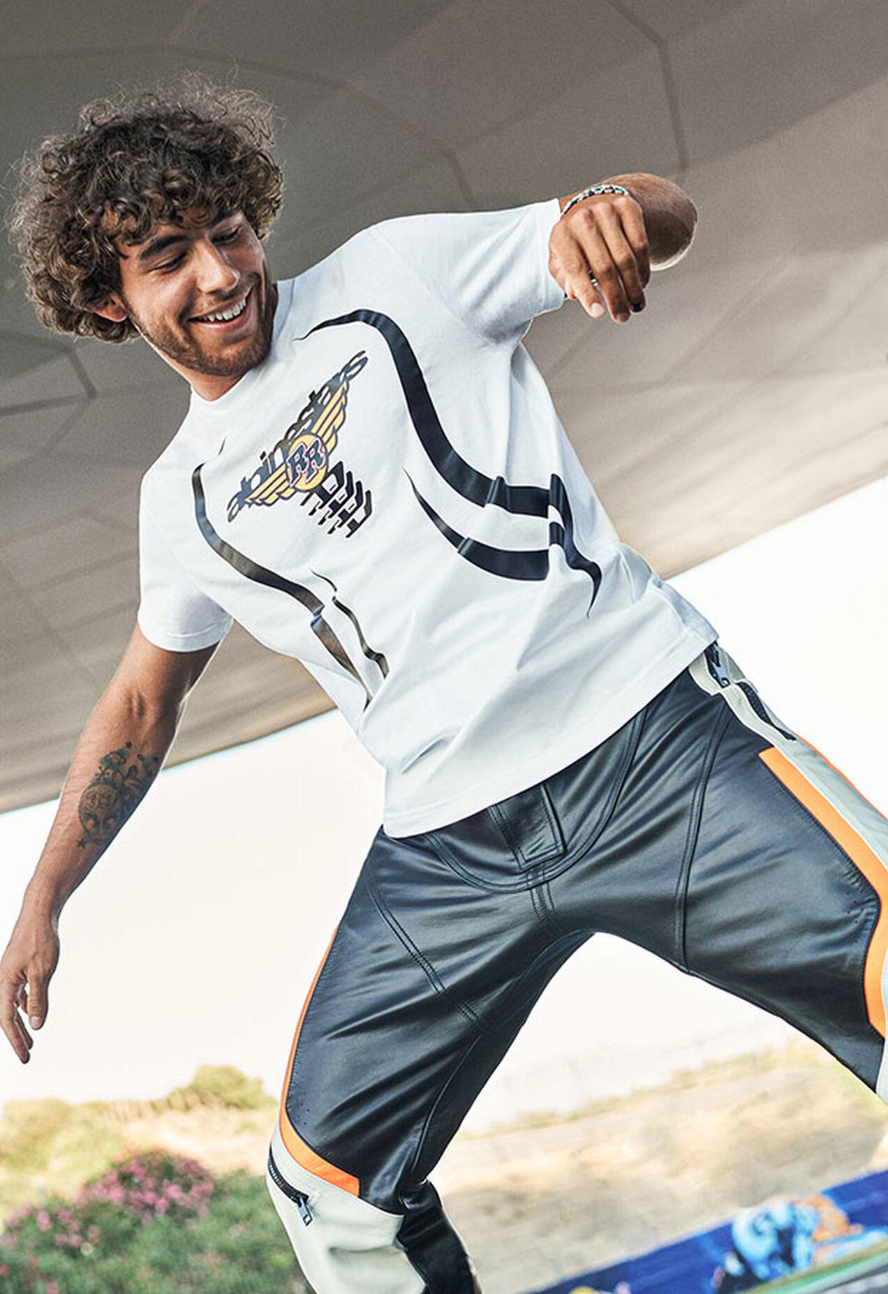ASTARS-T-DIEGOS-A, Blanc - T-Shirts