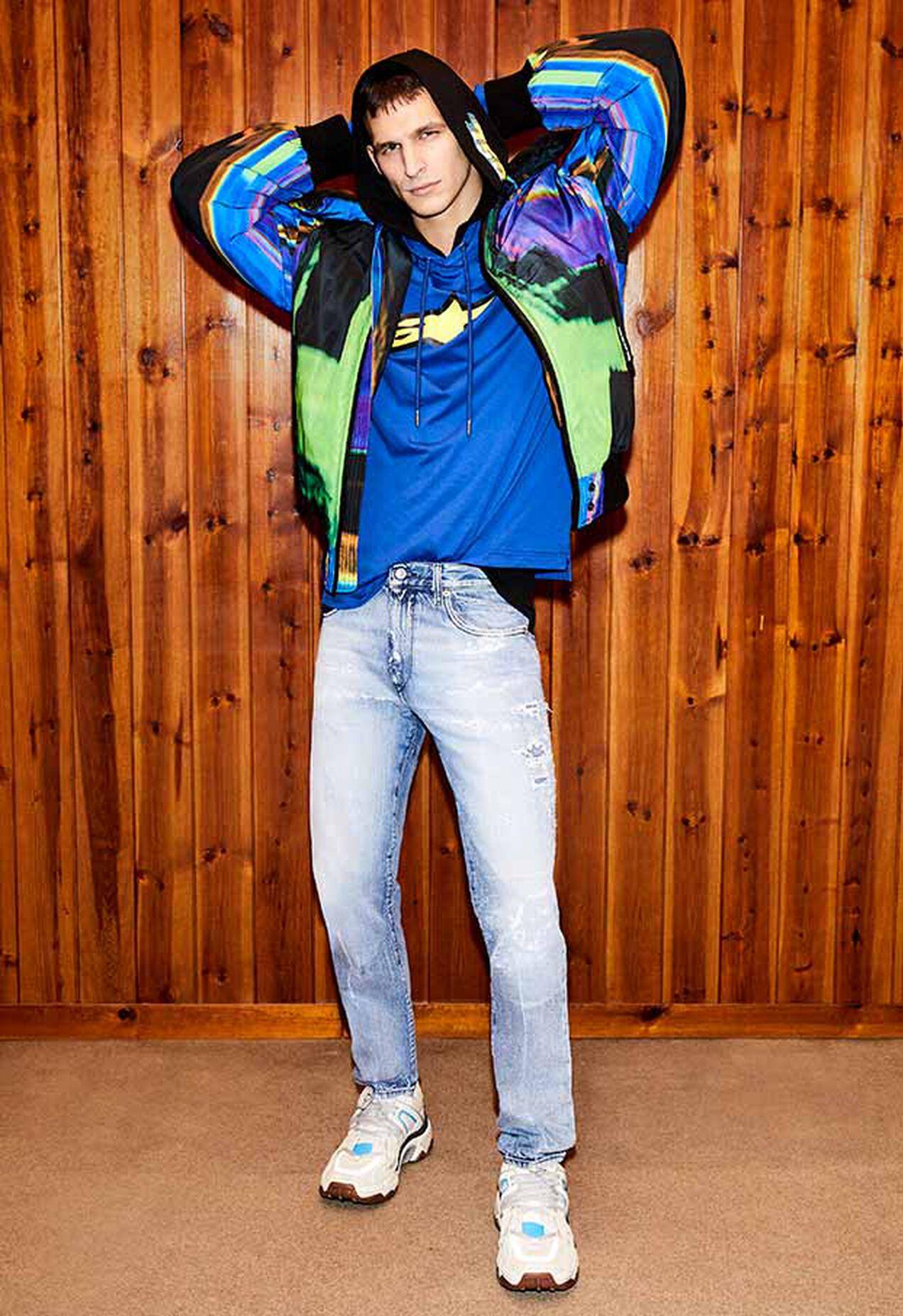 D-Strukt 009KH, Light Blue - Jeans