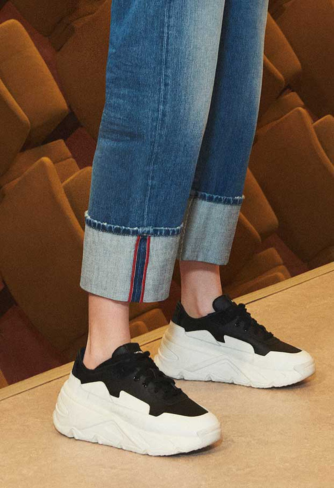 S-HERBY LC, White/Black - Sneakers