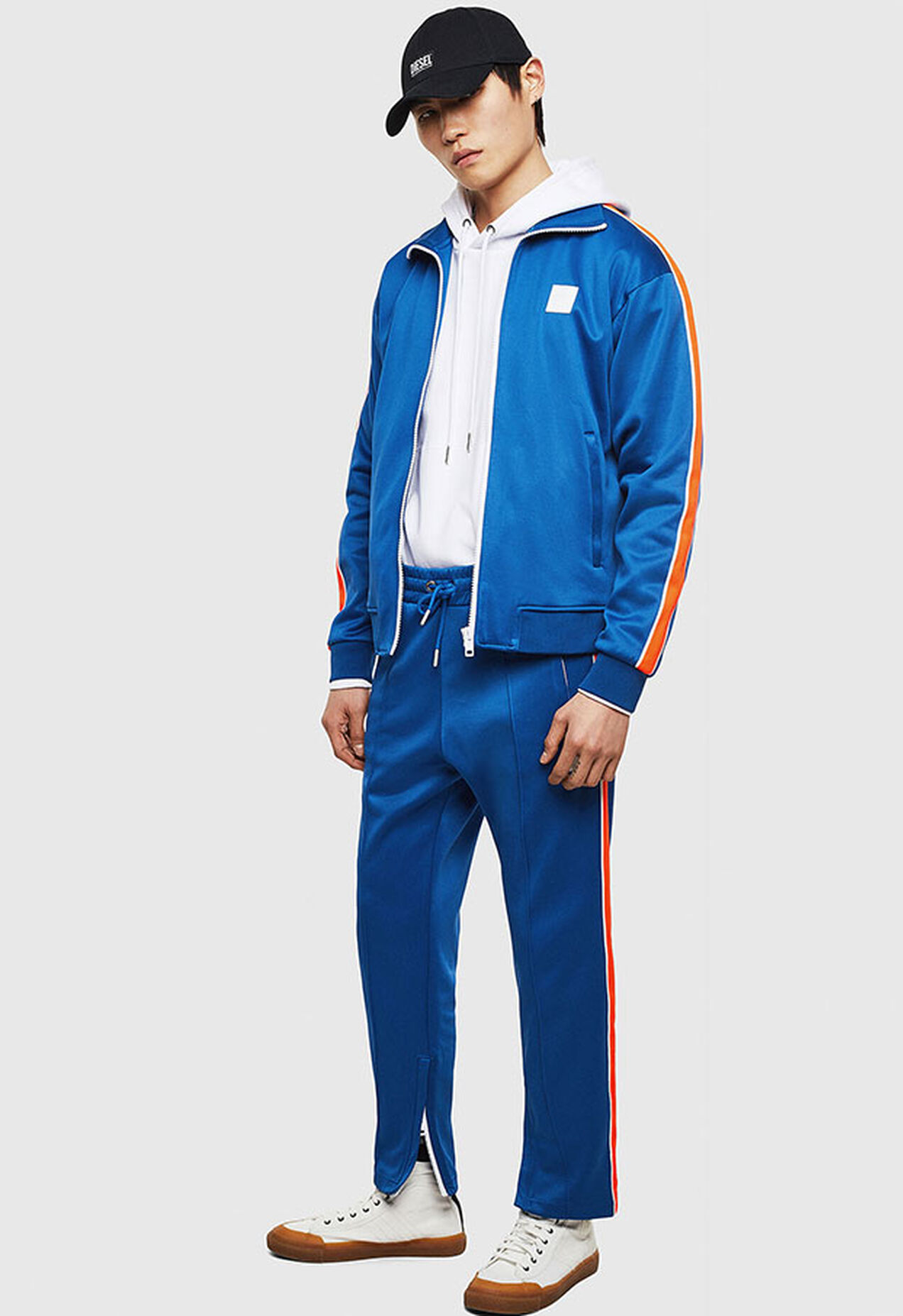 S-CORTESS, Bleu - Pull Cotton