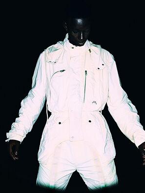ACW-JK03, Blanc - Vestes en denim