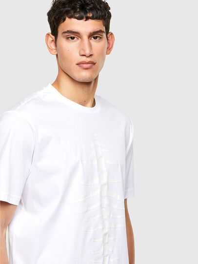 Diesel - T-JUST-A31, Blanc - T-Shirts - Image 3