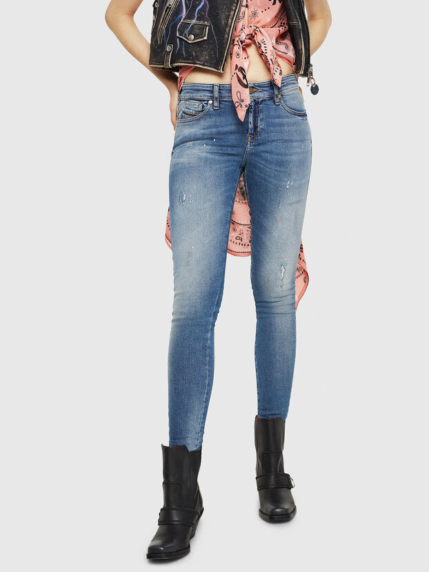Slandy 0090J, Bleu moyen - Jeans