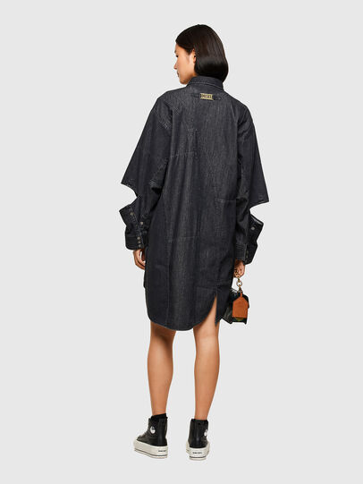 Diesel - DE-BLANCLE, Noir - Robes - Image 2