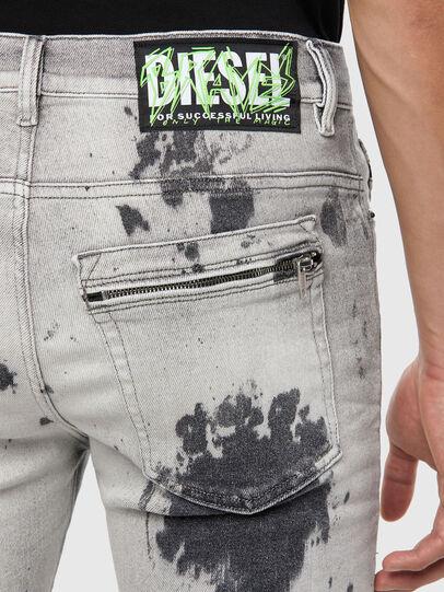 Diesel - D-Amny 009GM, Gris Clair - Jeans - Image 4