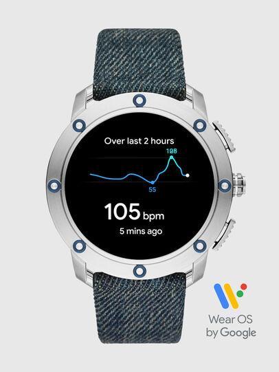 Diesel - DT2015, Jean Bleu - Smartwatches - Image 7