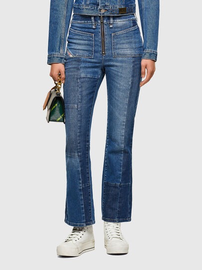 Diesel - D-Earlie 009NP, Bleu moyen - Jeans - Image 1