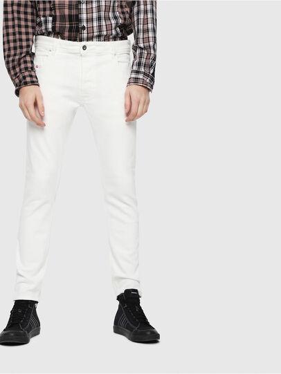 Diesel - Krooley JoggJeans 088AZ, Blanc - Jeans - Image 1