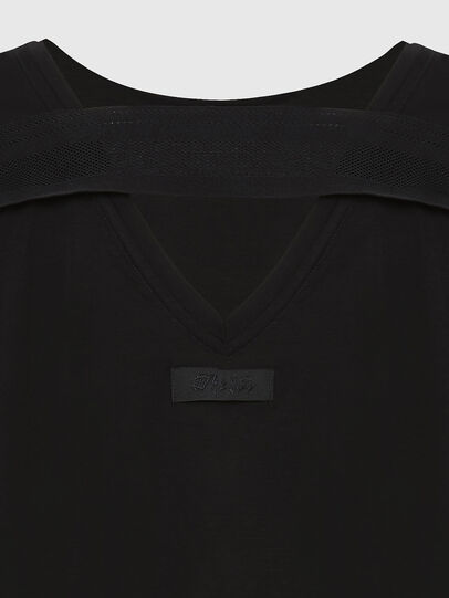 Diesel - T-RYLY, Noir - T-Shirts - Image 3